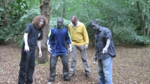 Zombies in Epping forest