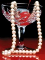 glass and pearls