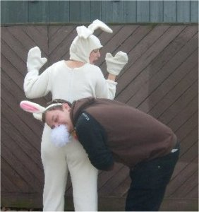 Catch the bunny photo challenge