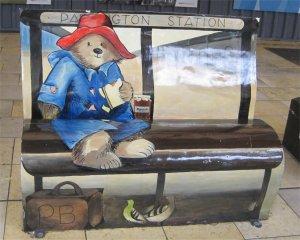 Paddington Bear Bench by Juliamaud