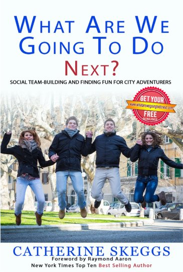 The book on social team-building and finding fun for city adventurers