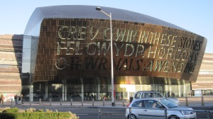Wales Millennium Centre in Cardiff by Juliamaud