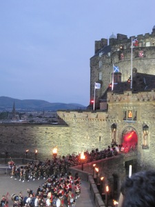 Edinburgh Tattoo by Juliamaud
