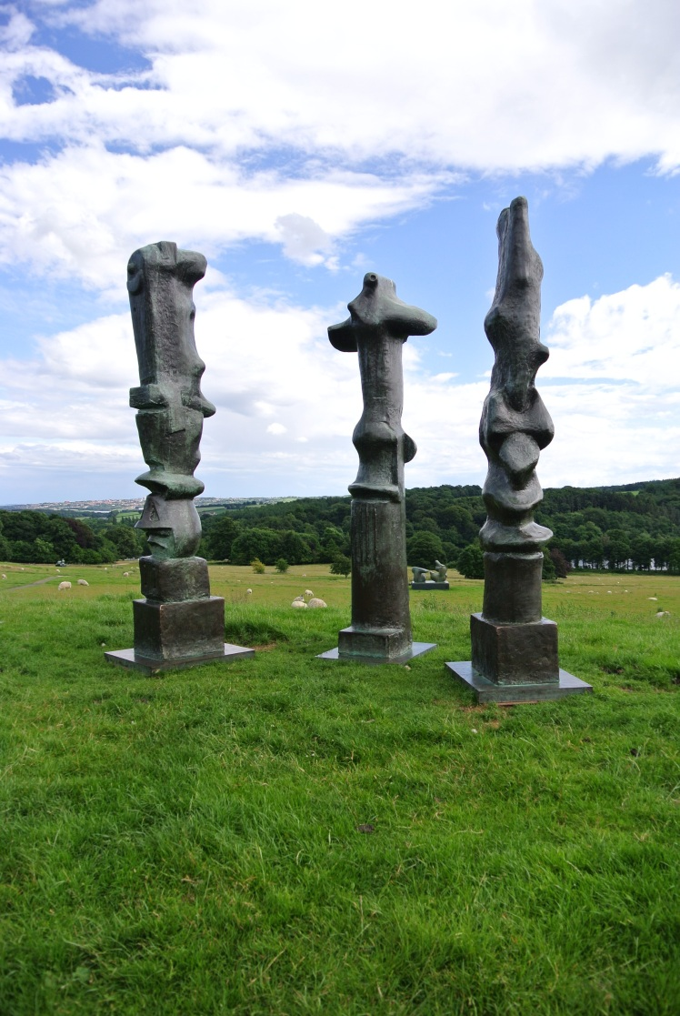 Henry Moore: Upright Motives No. 1 (Glenkiln Cross): No 2; No 7 - photo by Juliamaud
