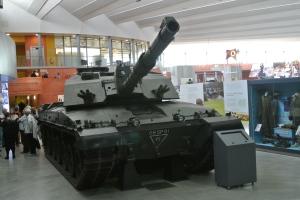 Group visit The Tank Museum at Bovington Camp in Dorset