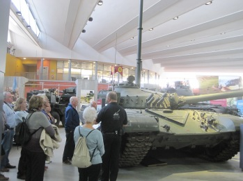 Group visit The Tank Museum at Bovington Camp in Dorset