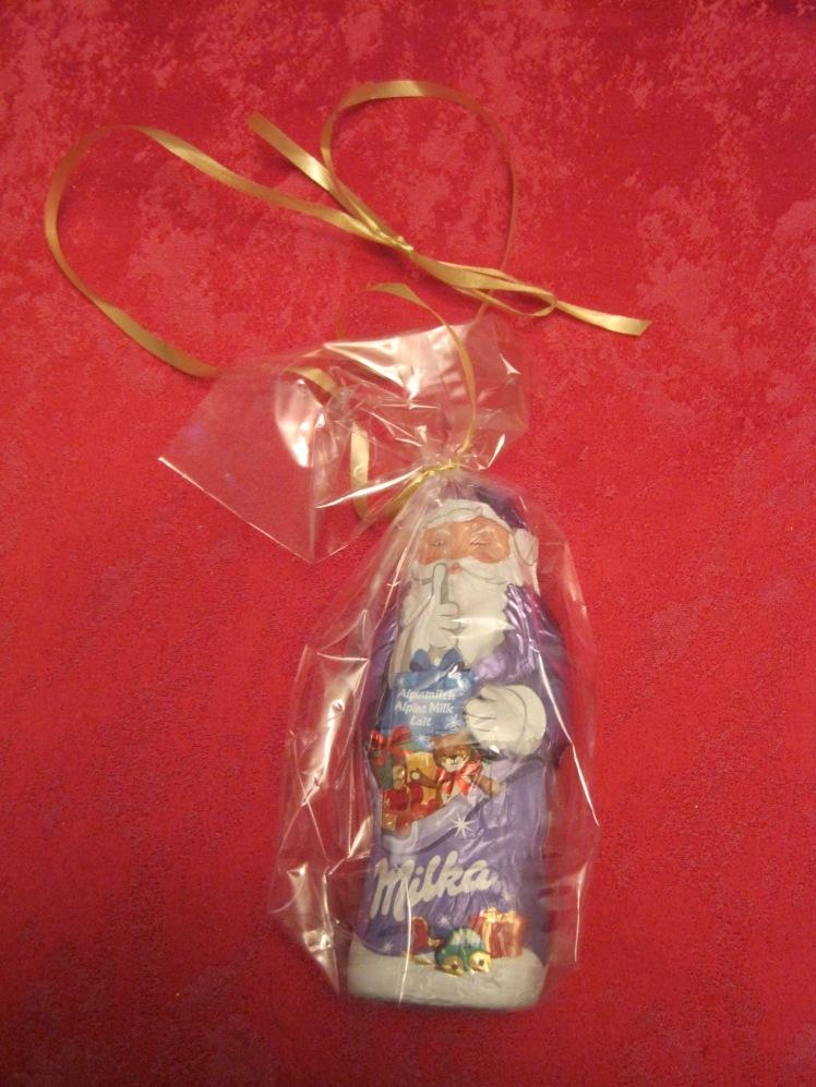Chocolate Santa gift