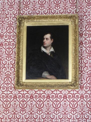 Lord Byron portrait at Newstead Abbey by Juliamaud