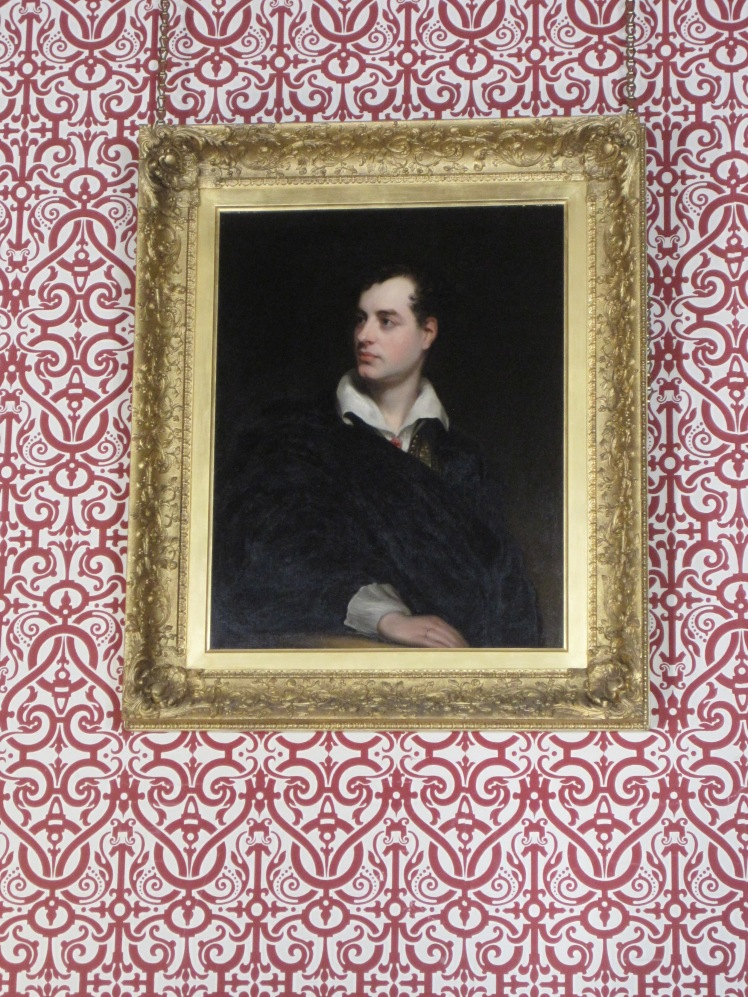 Lord Byron portrait at Newstead Abbey by Juliamaud