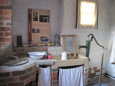 washroom at DH Lawrence museum - photo by Juliamaud